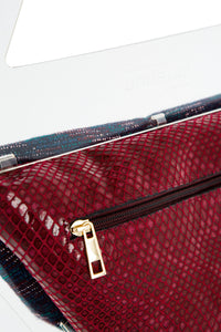 Trape-6 Plexiglass Handle Handbag