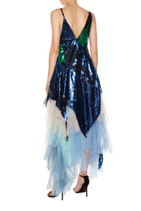 Sequin Tulle Mermaid Dress