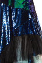 Load image into Gallery viewer, Sequin Tulle Mermaid Dress