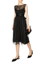 Load image into Gallery viewer, Lace Sleeveless Midi Dress