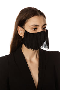 Face Mask - Fringe Trim