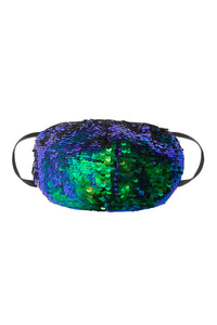 Sequin Face Mask - Multicolor (Filter Pocket)