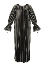 Load image into Gallery viewer, Contrast Stripe Cotton Maxi Dress