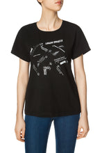 Load image into Gallery viewer, Crazy Princess Tee - Black