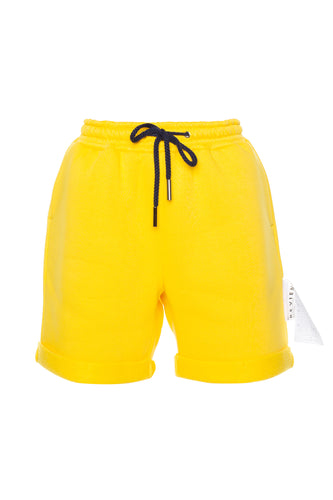 Drawstring CMYK Shorts - Yellow