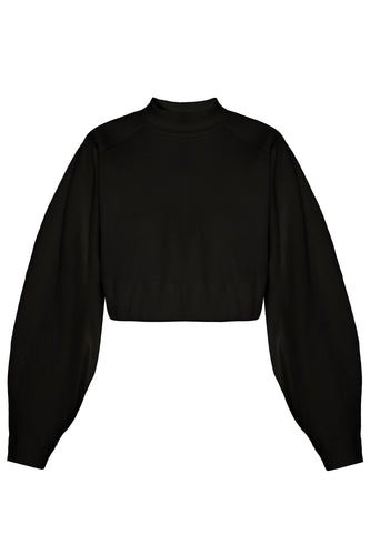 Sculpture Sweatshirt - Black