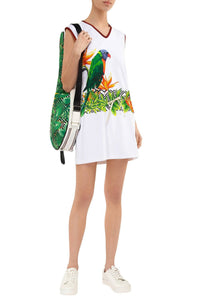 Tropical Tennis Bag