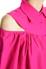 Load image into Gallery viewer, Bare Shoulder Shirtdress - Pink