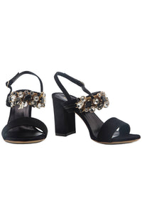 Classic Crystal Sandals