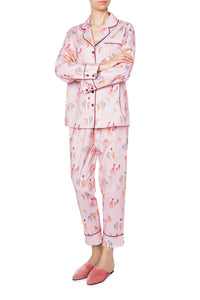 Cotton Long Sleeve Pajamas - Noble Animal Print