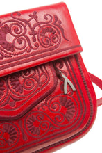 Load image into Gallery viewer, Berber Shoulder Bag - Red