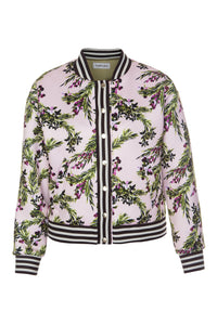 Juicy Cranberries Bomber Jacket - Pink