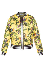 Load image into Gallery viewer, Juicy Cranberries Bomber Jacket - Lemon