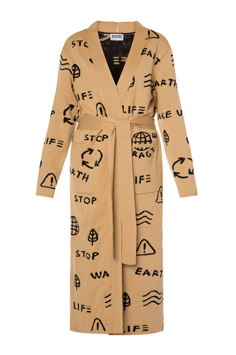 Wake Up Cardigan - Beige