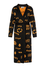 Load image into Gallery viewer, Wake Up Cardigan - Black