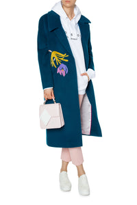 Fairy Dreams Cashmere and Wool Coat