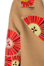 Load image into Gallery viewer, Floral Appliqué Cashmere Coat