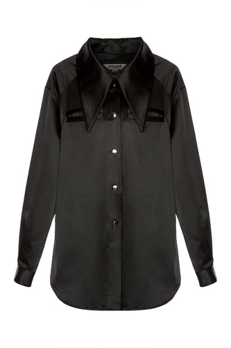 Dramatic Collar Shirt