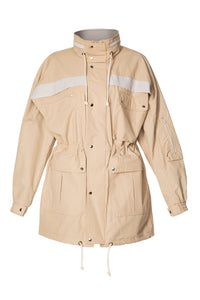 Kit Rain Jacket - Beige