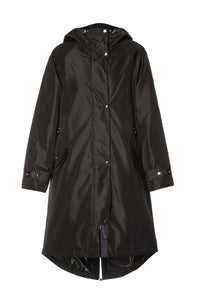 Kim Oversized Parka - Black
