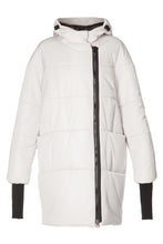 Load image into Gallery viewer, Diana Cocoon Coat - White
