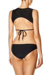 Band String Bikini - Black