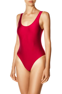 U Neck Swimsuit