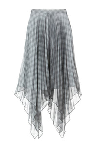 Lola Asymmetric Pleated Skirt