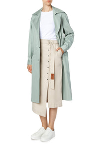 Judith Cotton Trench Coat