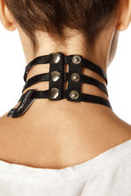 Load image into Gallery viewer, Triple Strap Choker