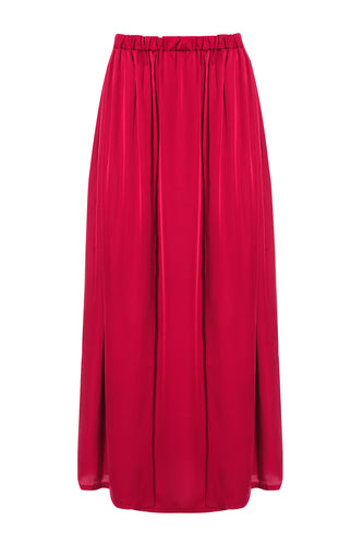 Long Slit Skirt