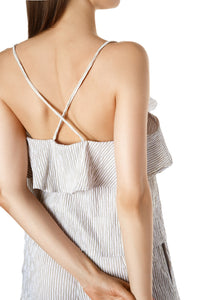 Carol Camisole Top - Grey