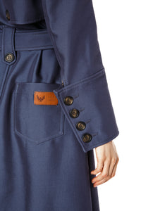 Simone Tailored Cargo Pocket Coat