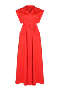Clarissa Maxi Shirt Dress