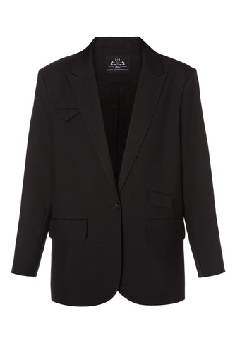 Tailored Wool Jacket