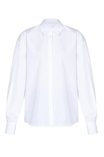 Sleeve Detail White Shirt