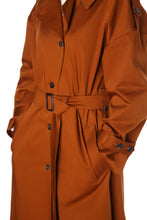 Load image into Gallery viewer, Oversized Trench Coat - Rust