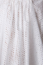Load image into Gallery viewer, Eyelet Wrap Dress