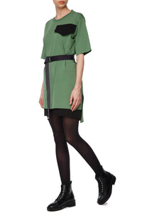 Cargo Sheath Dress - Olive