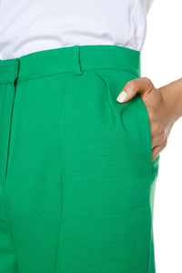 Knee Length Shorts - Green