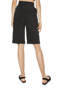 Knee Length Shorts - Black