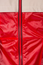 Load image into Gallery viewer, Technical Trench Coat - Red