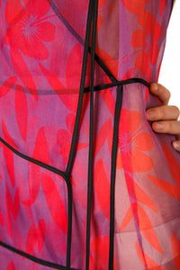 Silk Organza Halter Dress