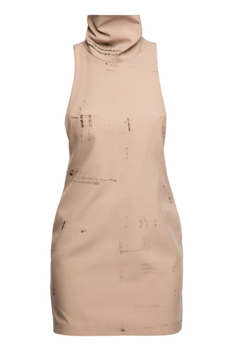 Sharon Stone Dress - Beige