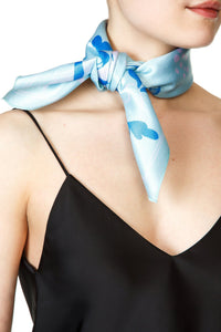 Happy Days Scarf - Light Blue