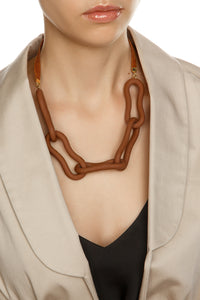 Peanut Chain Link Necklace