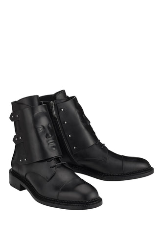 Ares Art Boots - Black