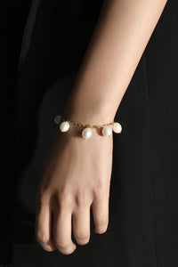 Pearl Droplets Bracelet