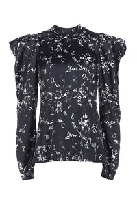Graffiti Blouse
