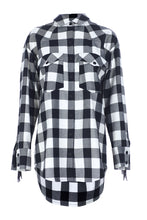 Load image into Gallery viewer, Oversized Check Shirt